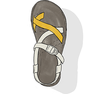 1ed3f272996e0 How To Loosen   Tighten Chacos - Strap Adjuster Guide